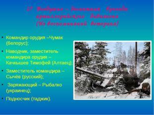 17 Воздушно – десантная бригада артиллерийского дивизиона (Из воспоминаний ве