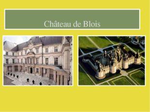 Сhâteau de Blois