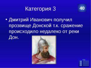 Категория 4 Династия Демидовых 20 Никита Демидов Категория Ваш ответ