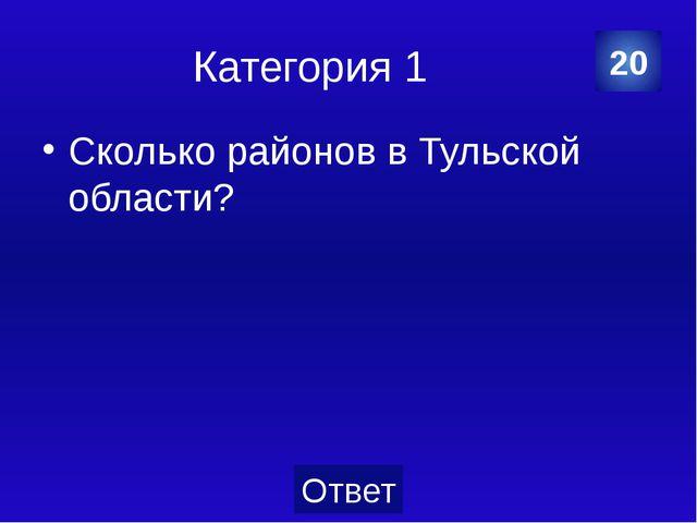 Категория 2 Что изображено на гербе Тулы? 40 Категория Ваш вопрос Ответ