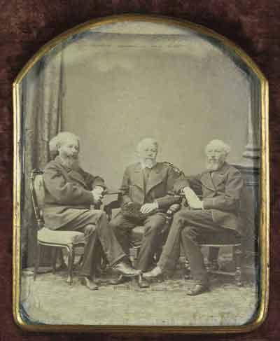 Братья Бекетовы: Андрей Николаевич, Алексей Николаевич, Николай Николаевич. Петербург. 1880-е годы