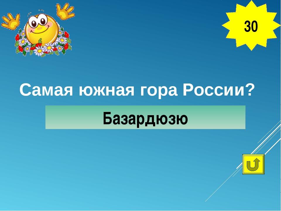 Самая южная гора России? Базардюзю 30