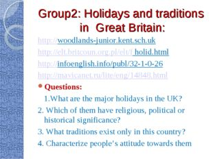 Group2: Holidays and traditions in Great Britain: http://woodlands-junior.ken