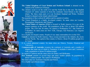 The United Kingdom of Great Britain and Northern Ireland is situated on the i