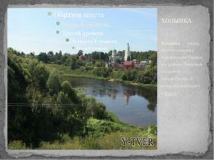 Холынка—речка, протекающая по территориямРжевского районаТверской области