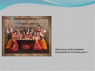 Оркестр русских народных инструментов «Русская удаль».