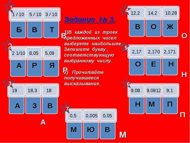 1 / 10 5 / 10 3 / 10 Б В Т 2 1/10 8,05 5,09 А Р Я 19 18,3 18 А З В 12,2 14,2...