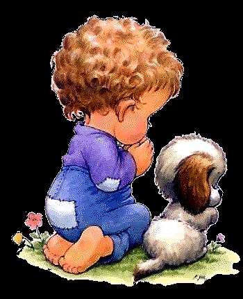 C:\Users\777\Desktop\Дехтерева Демченко Урок Эпитеты Безударные падежные окончания\boy_pupppy_pray.gif