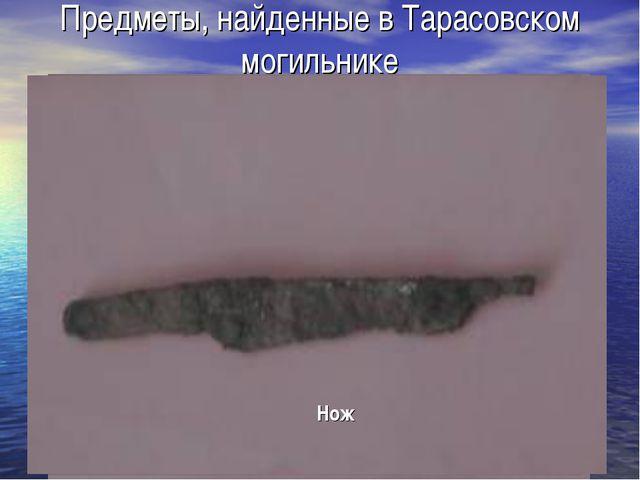 Предметы, найденные в Тарасовском могильнике Это лишь малая часть тех предмет...