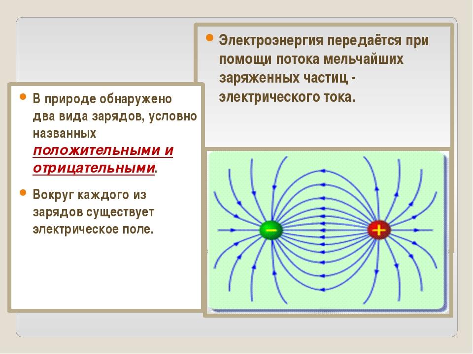 Электроэнергия передаётся при помощи потока мельчайших заряженных частиц - эл...