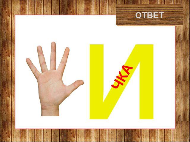 рукавичка ОТВЕТ И ЧКА