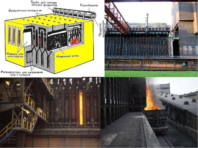 Коксовая печь, технологический агрегат, в котором осуществляется коксование...