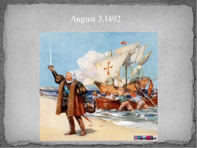 August 3,1492