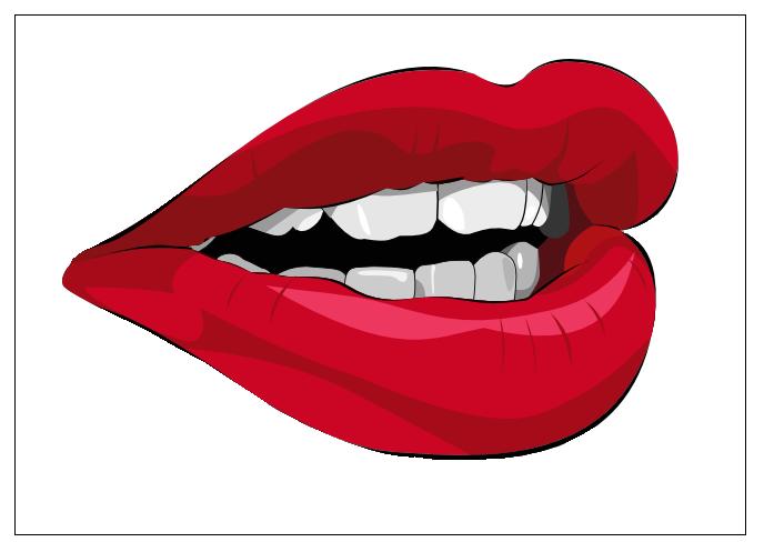 фото рот человека