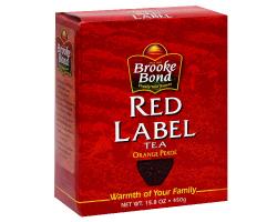 В Индии из продажи изъят чай BrookeBond RedLabel