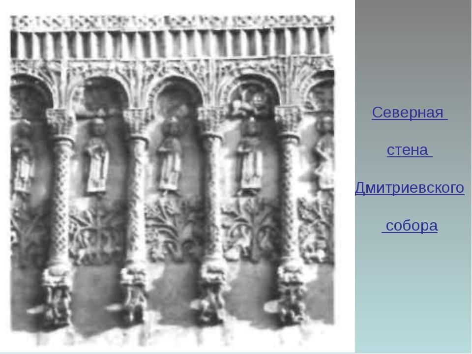 Северная стена Дмитриевского собора