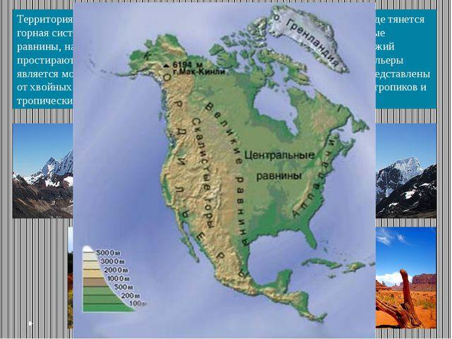 Территория СШАотличается разнообразием природных условий. На западе тянется...