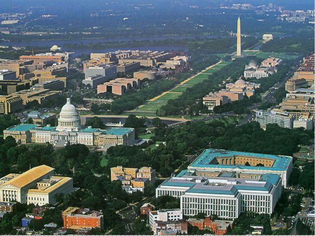 Вашингтон – столица США. Федеральный округ Колумбия