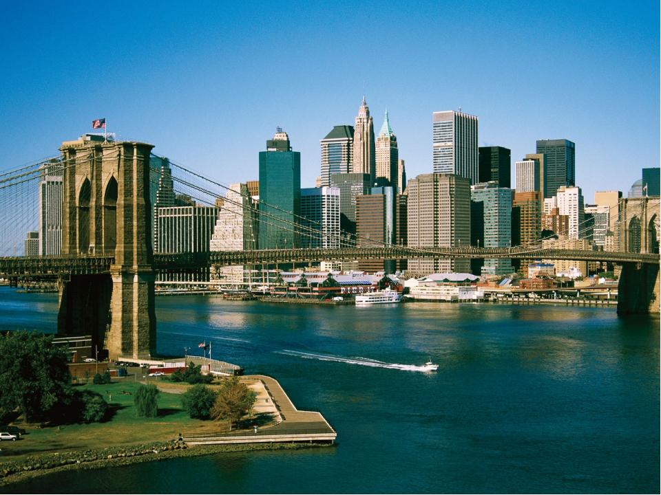 Туризм в США Индустрия туризм 1 место в мире. Ежегодно страну посещают 40-45...
