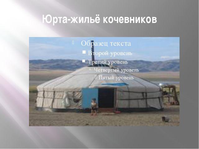 Юрта-жильё кочевников