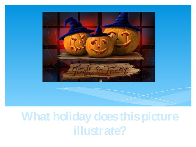 What holiday does this picture illustrate?
