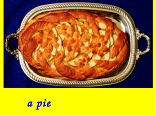 a pie