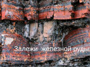 Залежи железной руды