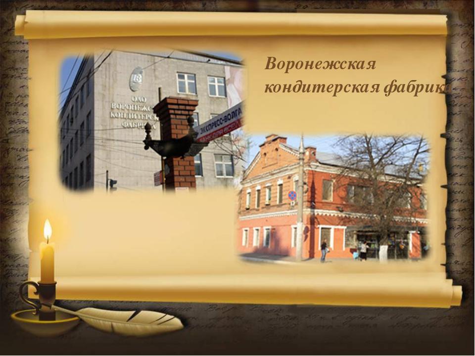 Воронежская кондитерская фабрика