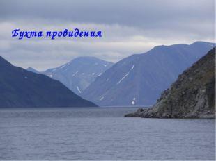 Бухта провидения Матюшкина А.В. http://nsportal.ru/user/33485