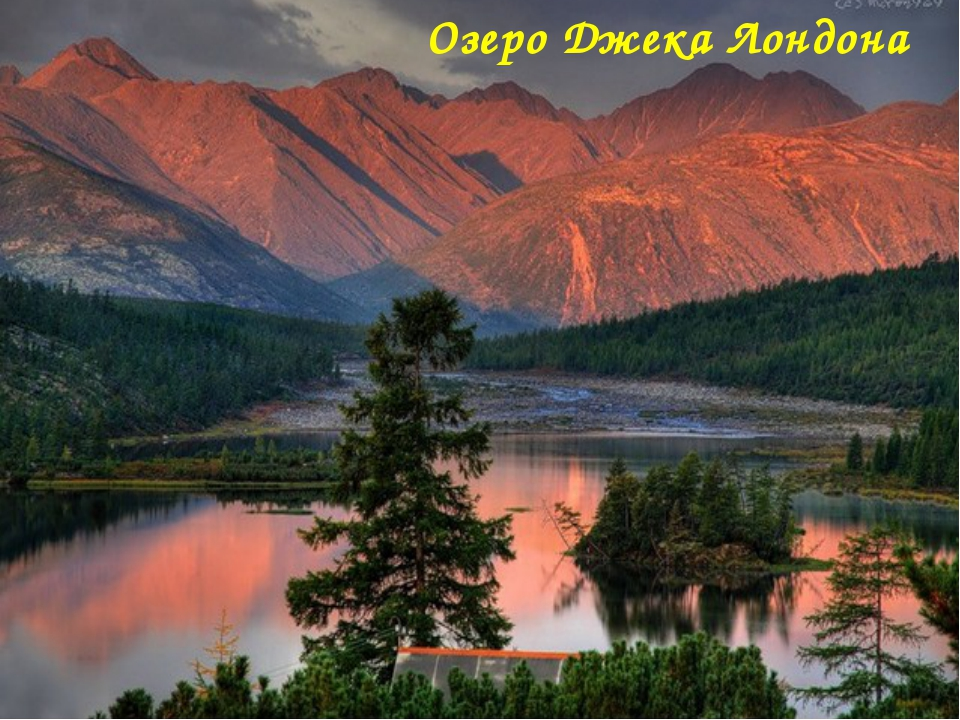 Озеро Джека Лондона Матюшкина А.В. http://nsportal.ru/user/33485