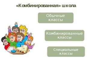 «Комбинированная» школа