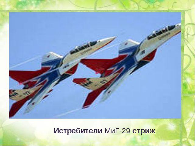 ИстребителиМиГ-29стриж