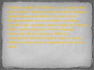 . Араф географы Әл-Марвази (12 ғ.) қарлұқтар құрамында 9 тайпа болғанын айтад