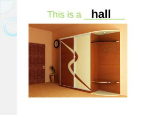 This is a ________ hall