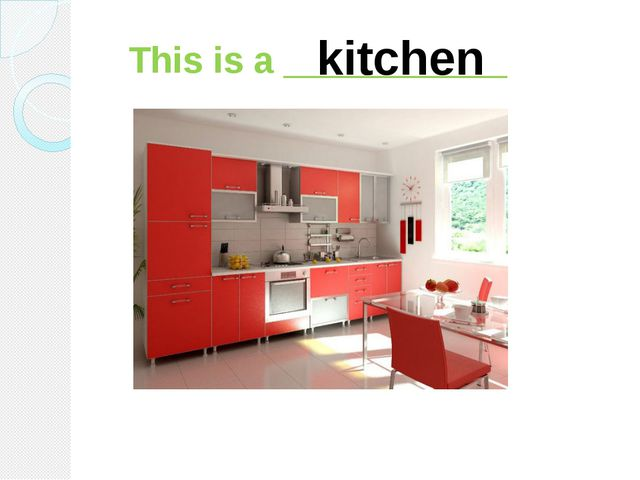 This is a ___________ kitchen