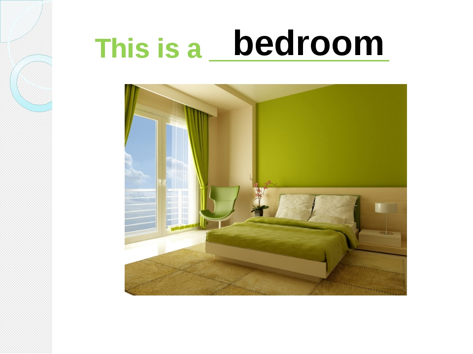 This is a ____________ bedroom