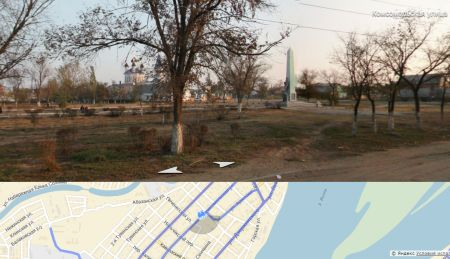 В Астрахани появится новый парк, посвященный православным святым