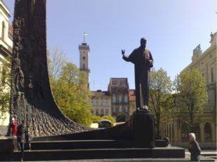 Пам'ятник Шевченку у Львові