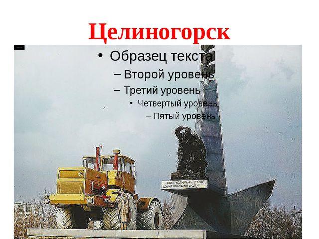 Целиногорск