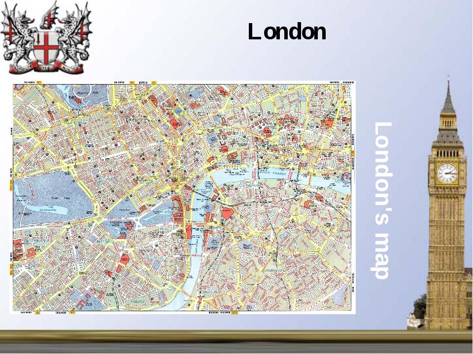 London's map London