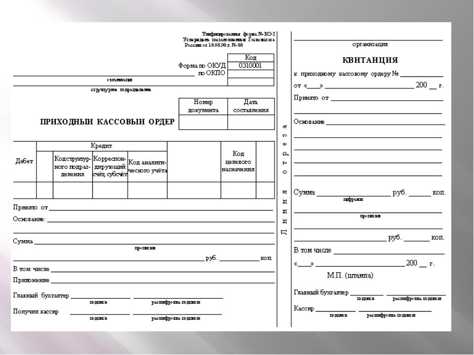 Первичный документ —документ включающий исходные сведения, полученные в про...