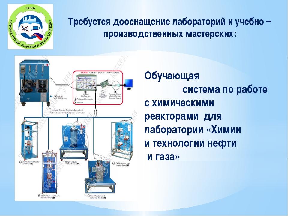 Обучающая система по работе с химическими реакторами для лаборатории «Химии...
