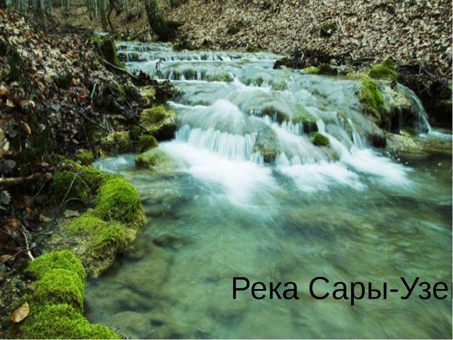 Река Сары-Узень