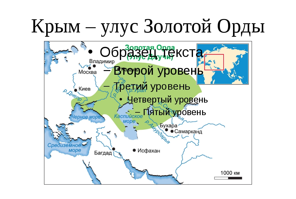 Крым – улус Золотой Орды