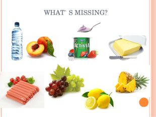 WHAT` S MISSING?