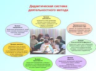 Дидактическая система деятельностного метода