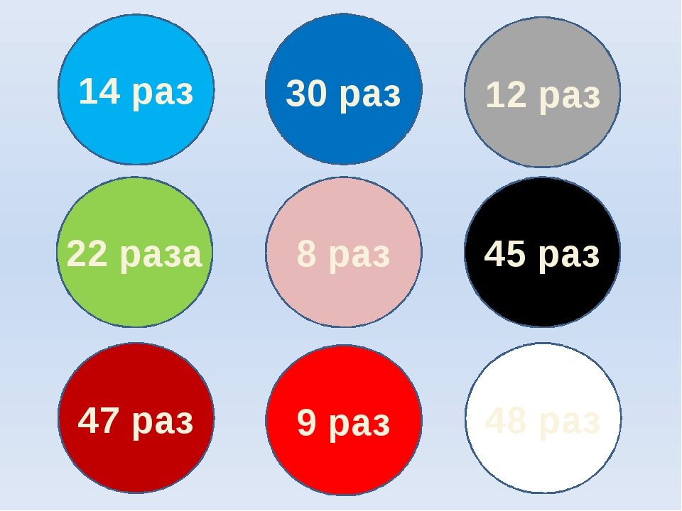 14 раз 30 раз 12 раз 22 раза 8 раз 45 раз 47 раз 9 раз 48 раз