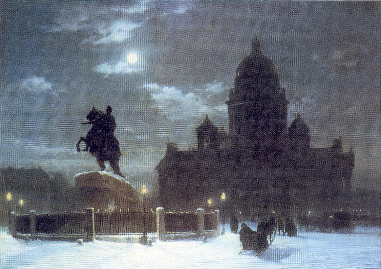 http://uploads3.wikipaintings.org/images/arkhip-kuindzhi/view-of-the-isaac-cathedral-at-moonlight-night-1869-1.jpg