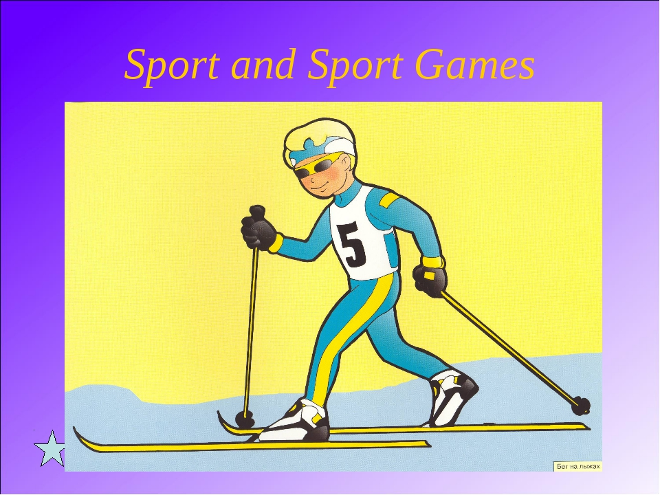 Sport and Sport Games