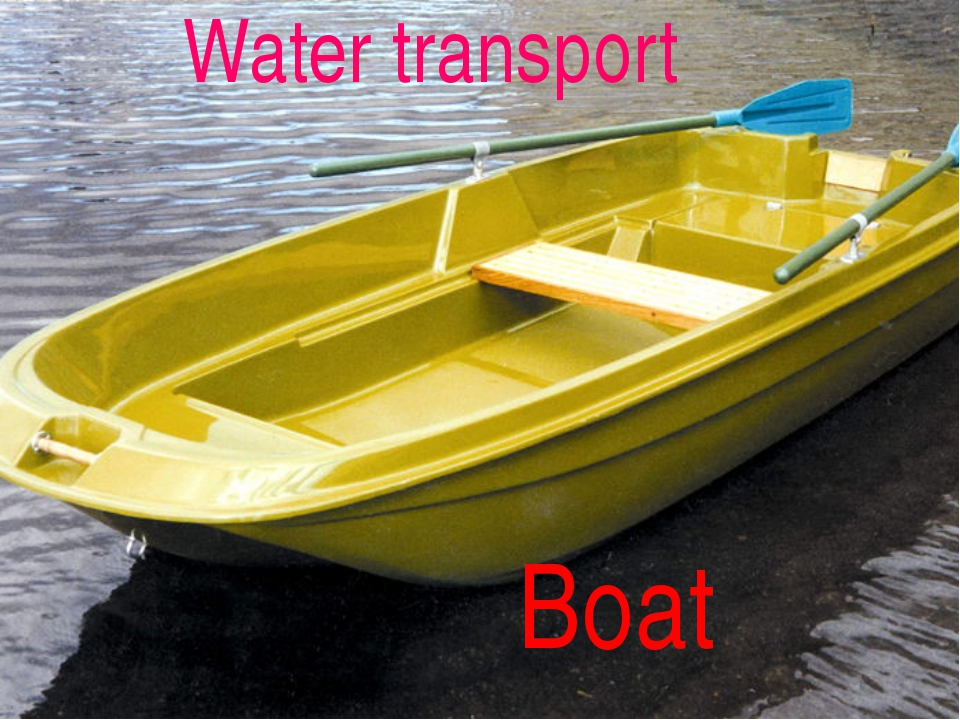 Boat Water transport